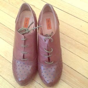 Miz Mooz 4 inch leather heels